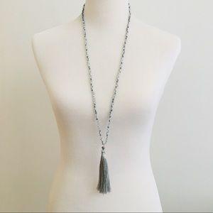Jewelry - Beaded Necklace W/Fringe